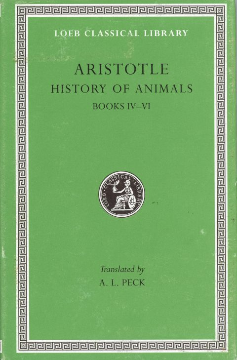 History of Animals, Aristotle